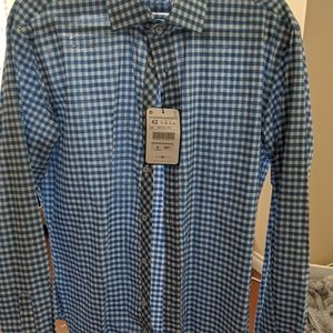 BRAND NEW WITH TAGS AND BUTTONS ZARA DRESS SHIRT